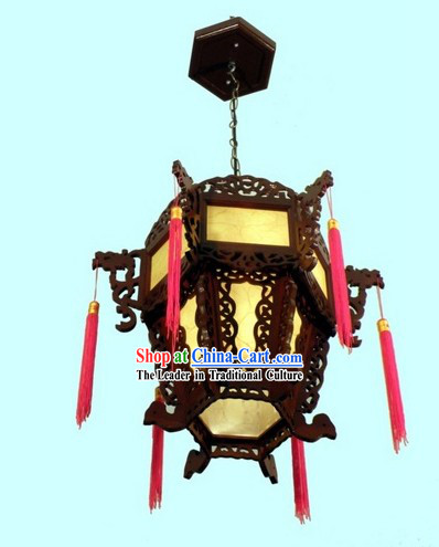 Traditional Chinese Palace Wooden Lantern