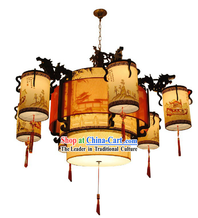 661 Inches Chinese Large Palace Lantern Set