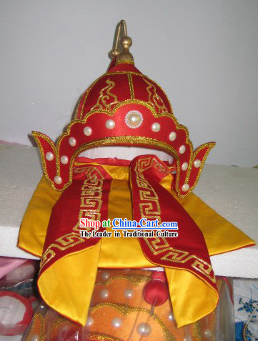 Chinese Ancient General Helmet Hat