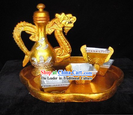 Chinese Stage Performance or Film Prop - Teapot Set
