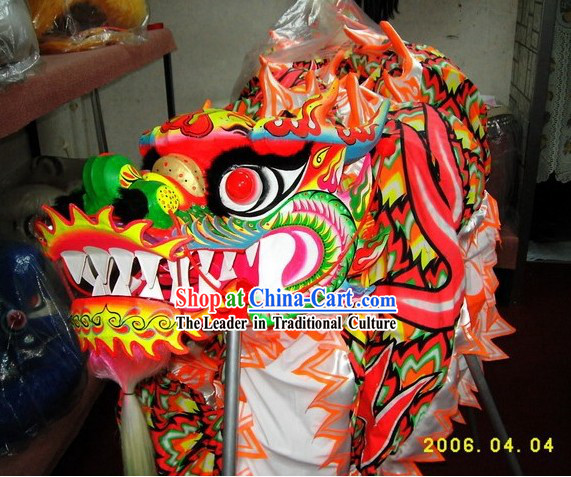 Supreme Fluorescent Dragon Dancing Costume Complete Set