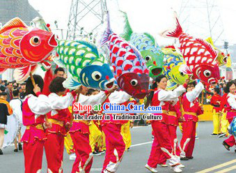 1-2 People Fish Dance Equipment