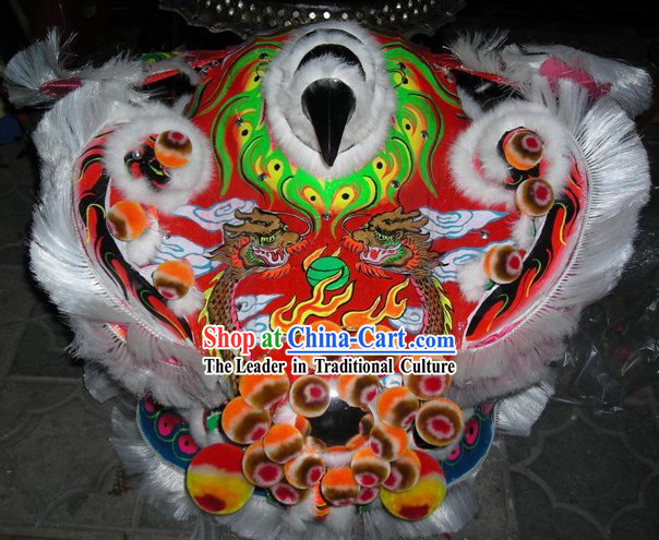 Original Dragon Painting Lion Dance Costume Complete Set