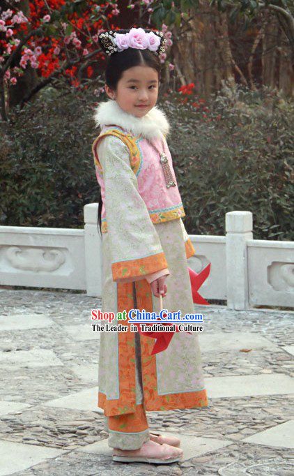 Ancient Chinese Imperial Princess Costumes for Kids