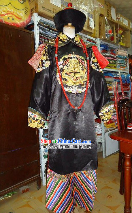 Ancient Wang Ye Royal Official Clothing Complete Set