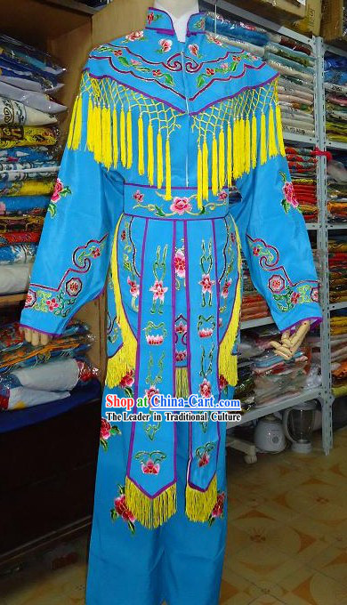Peking Opera Female Solider Fighting Clothes