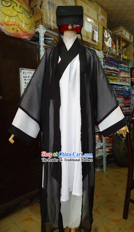 Chinese Wudang Taoist Clothing Complete Set