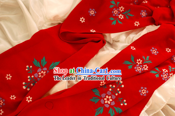Traditional Chinese Silk Cape