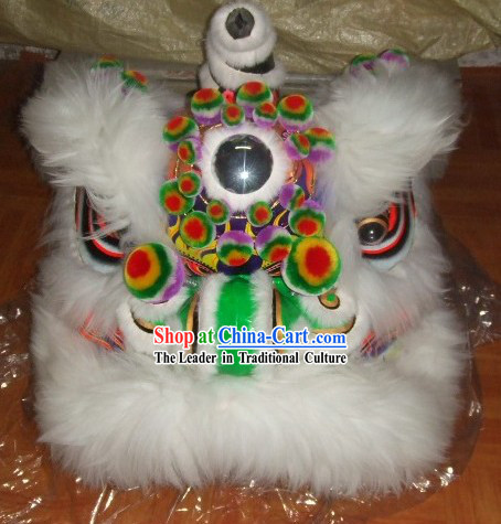Traditional Chinese Handmade Sheep Wool Lion Head