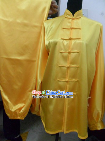Traditional Chinese Silk Taiji Suit
