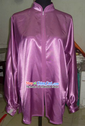 Traditional Chinese Silk Tai Chi Suit