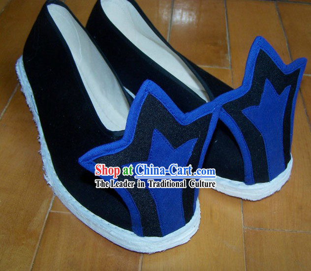 Ancient Chinese Handmade Hanfu Matching Shoes for Men