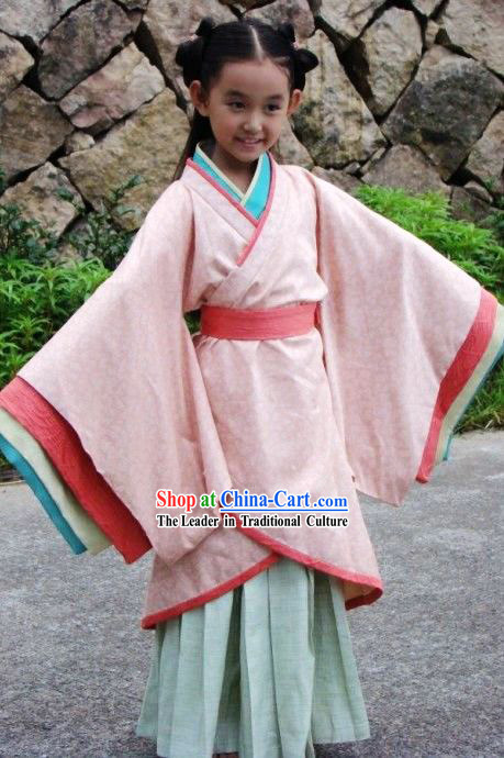 Ancient Han Chinese Clothing for Kids