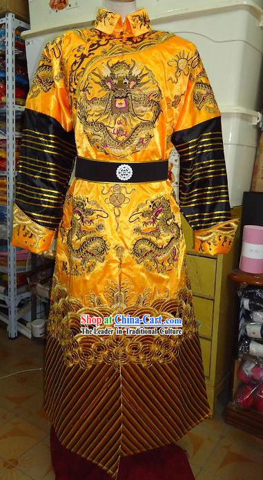 Robe Dynasty For Embroidered Qing Emperor Dragon kn8ONwX0P