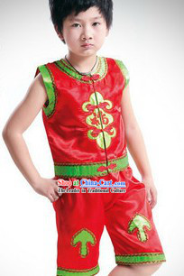 Traditional Children Dragon Dancer Uniform
