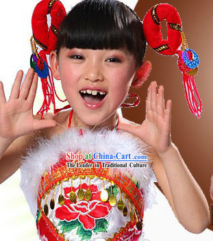 Festival Celebration Dragon Dancer Uniform for Kids