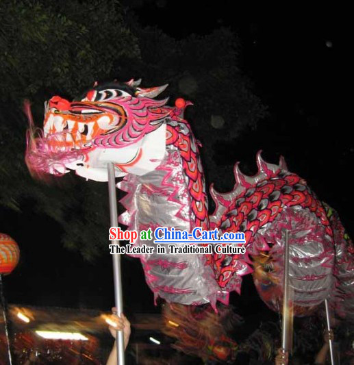 Adult Size Glowing in Dark Dragon Dance Costumes Complete Set