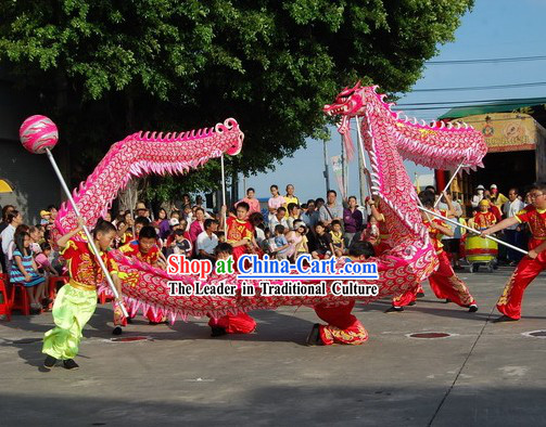 Luminous Dragon Dance Costumes Complete Set for Primary School Students