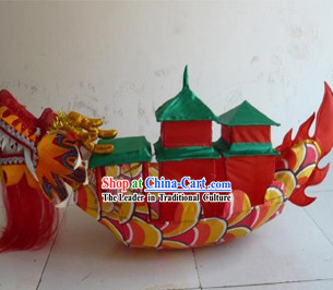 Traditional Chinese Dragon Boat for Display