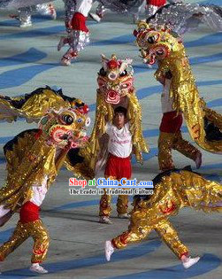 Peking Olympic Games Kylin Dancing Costumes Complete Set