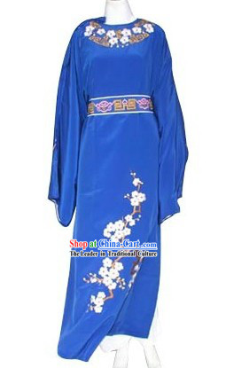 Traditional Chinese Blue Robe for Men