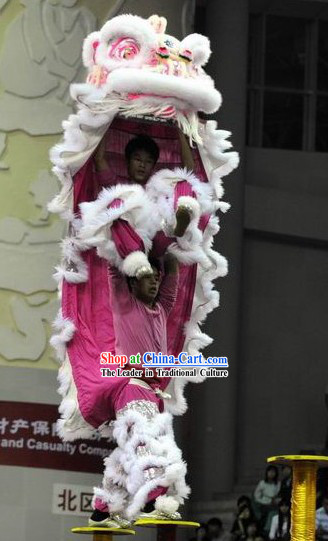 Supreme Competition and Performance Lion Dance Costumes Complete Set