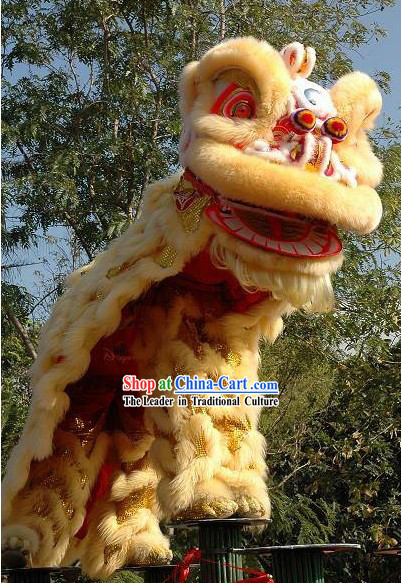 Festival and Opening Ceremony Supreme Chinese Lion Dance Costume Complete Set