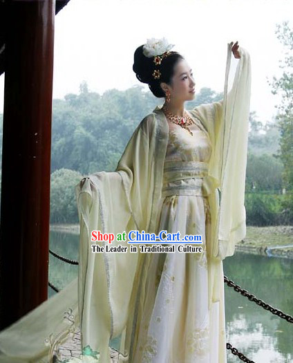 Chinese Tang Dynasty Princess Garment for Women
