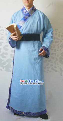 Ancient Chinese Han Fu Robe for Men