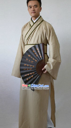 Ancient Chinese Han Fu Clothing for Men