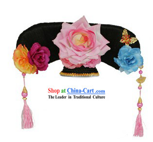 Chinese Palace Lady Manchu Headpiece