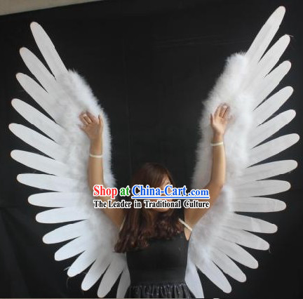 Fedex Delivery Days >> Handmade Long Feather Big Black Angel Wings Dancing ...