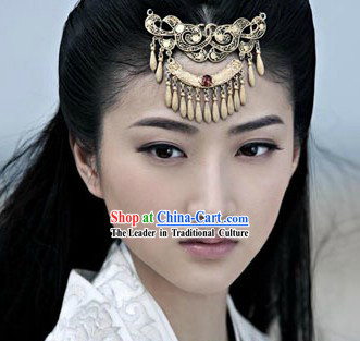 Chinese Han Dynasty Forehead Hairpin