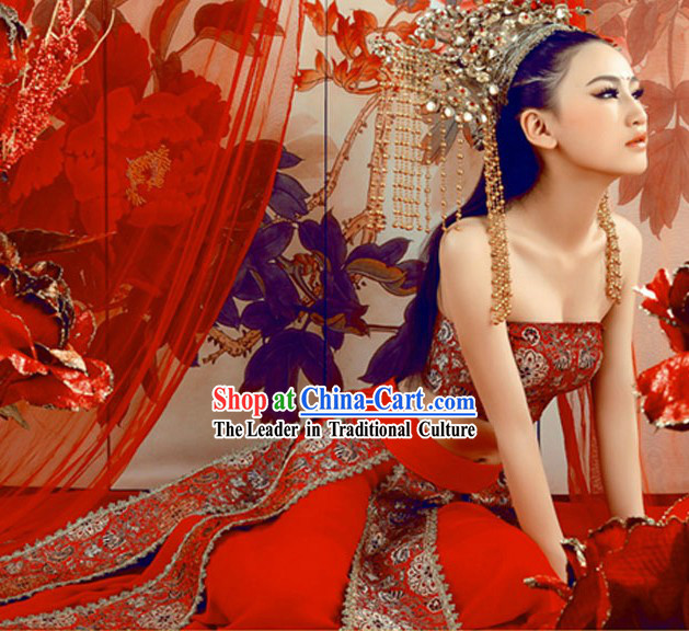 Ancient Chinese Style Sexy Costume for Women
