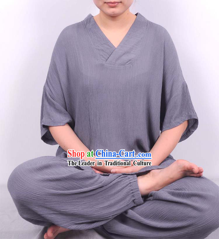 Traditional Chinese Style Yoga Suit for Women