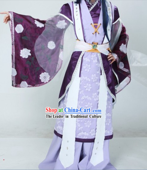 Ancient Chinese Sword World Character Costumes for Men