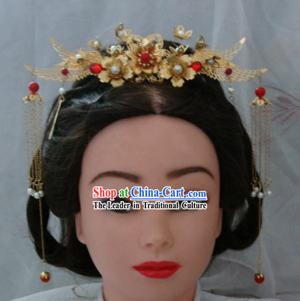 Ancient Chinese Palace Style Concubine Phoenix Crown