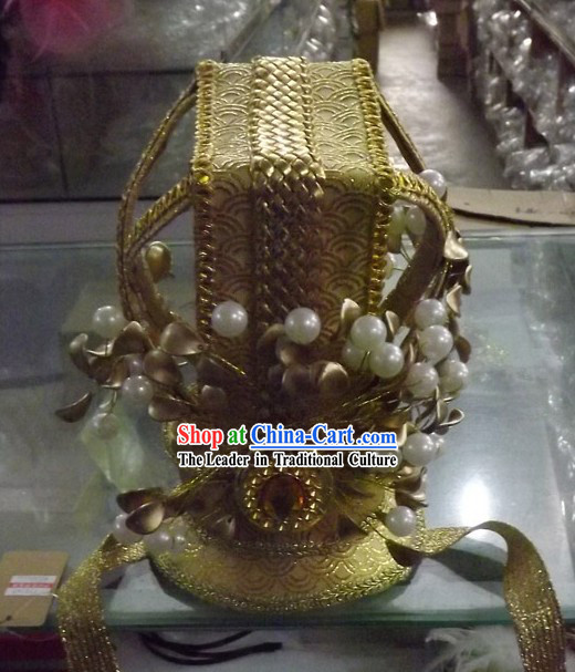 Handmade Ancient Chinese Palace Style Prince Crown