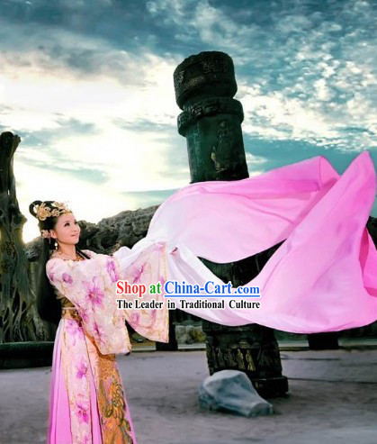Long Sleeve Tang Palace Dancer Dance Costumes