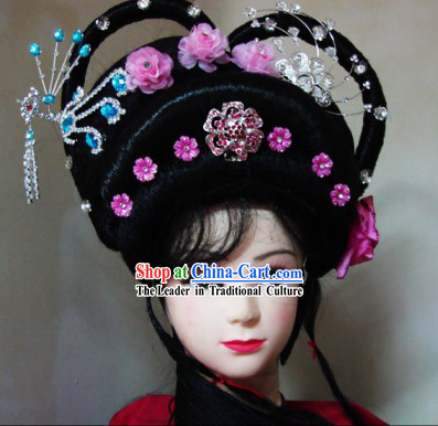 Chinese Classical Palace Lady Wig and Headpiece