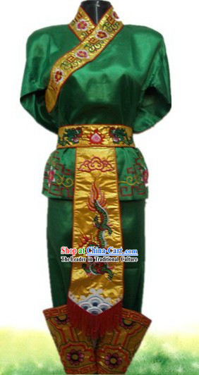 Traditional Chinese Dragon Dancer Costume for Men