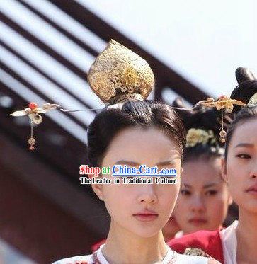 Ancient Chinese Tang Dynasty Princess Headpiece