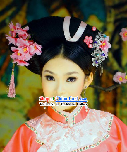 Chinese Classical Beauty Hair Accessories and Wig
