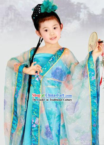Ancient Chinese Tang Dynasty Costume for Kids