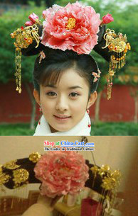 Chinese Classical Palace Princess Manchu Hat
