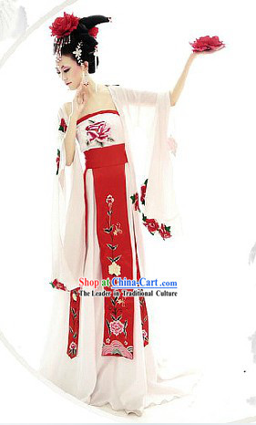 Tang Dynasty Yang Guifei Empress Costumes