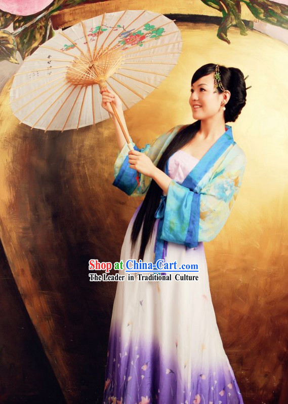 Ancient Chinese Han Dynasty Hanfu Clothing for Women