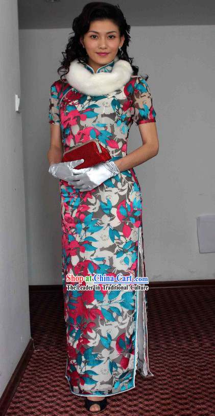 Traditional Chinese Old Shanghai Qipao Cheongsam