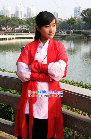 Ancient Chinese Swordswoman Costumes