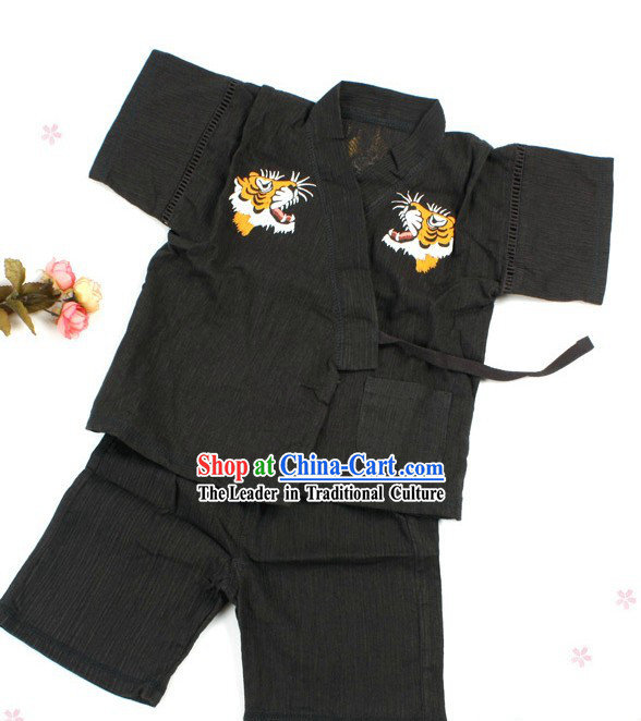 Traditional Japanese Kimono Clothing for Kids